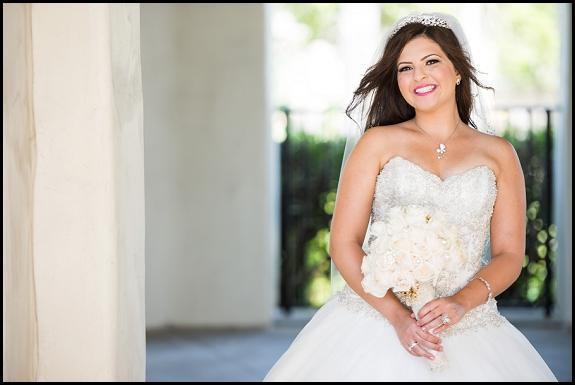 bride hyatt regency resort and spa huntington beach wedding