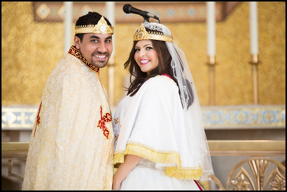 egyptian coptic orthodox wedding ceremony
