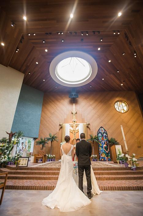 holy spirit catholic church wedding