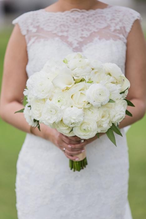 wedding bouquet peonies