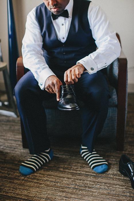 groom wedding socks