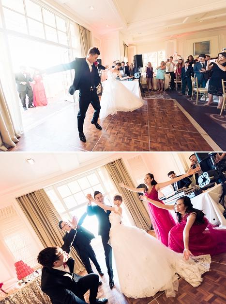 ritz carlton wedding reception