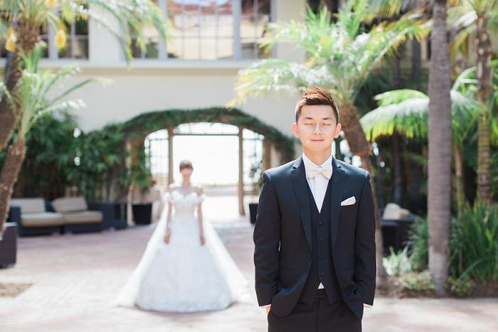 ritz carlton weddings first look