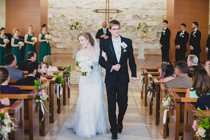 crossline church wedding