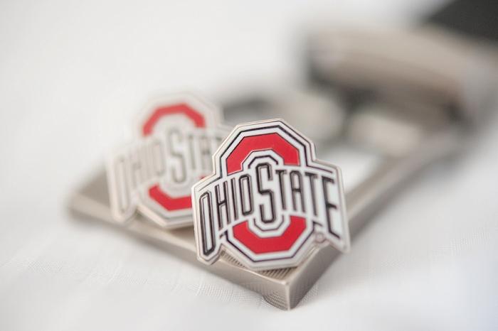 ohio state cufflinks