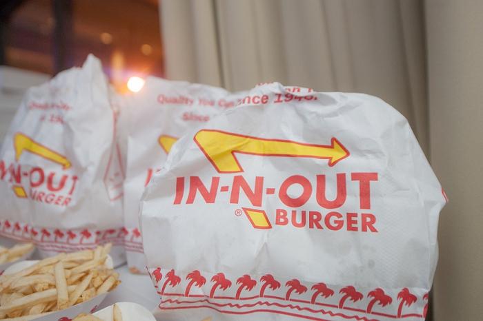 In-N-Out wedding snacks