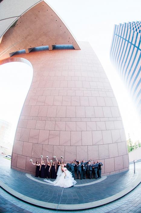 segerstrom wedding photo shoot