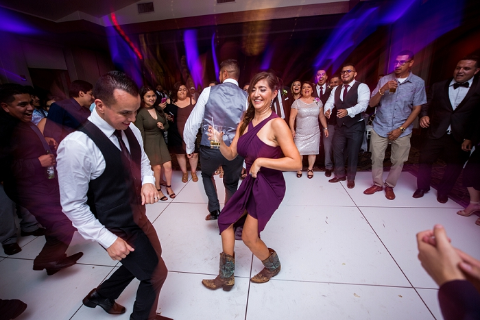 latin country dancing wedding