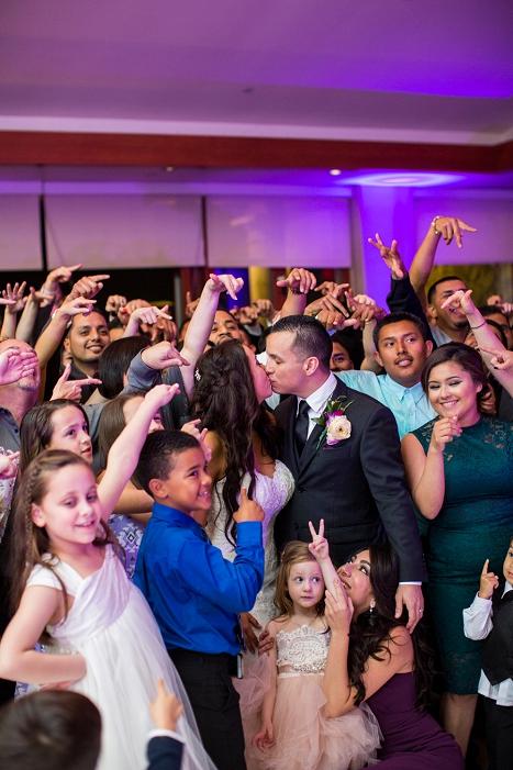 orange county wedding reception