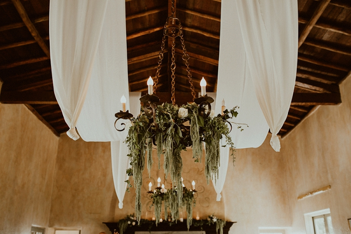 garden floral chandeliers