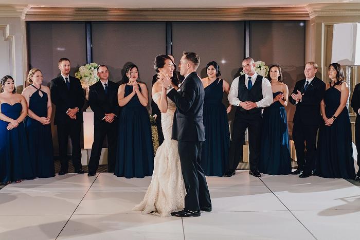 center club wedding