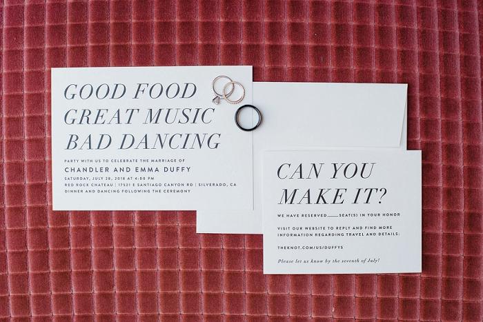 fun wedding invitations