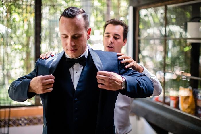guys at wedding