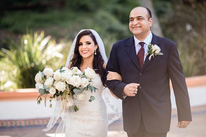 large wedding bouquet