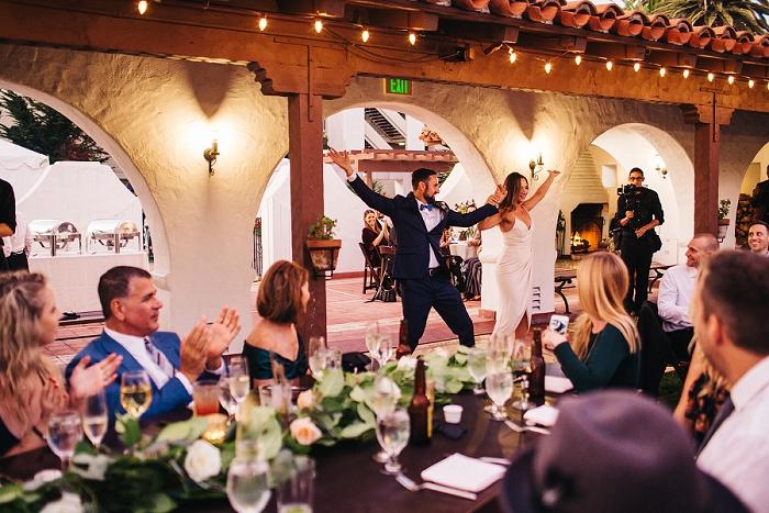 wedding grand entrance