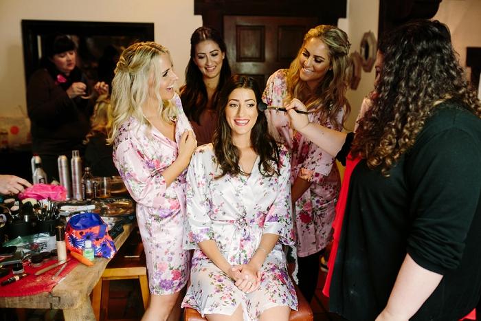 wedding hair sylist