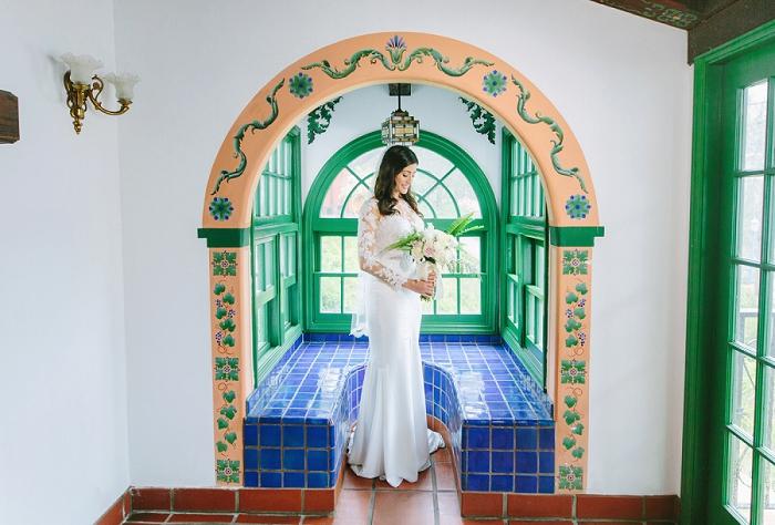 rancho las lomas bride