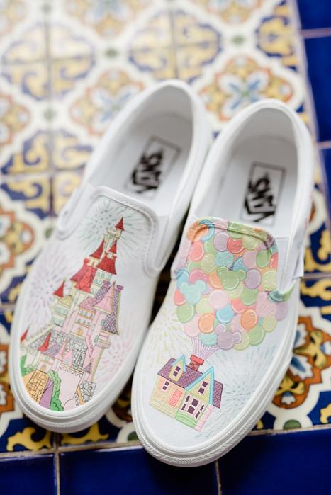 disney UP wedding shoes