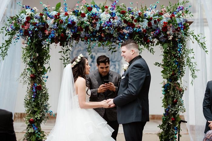 rancho las lomas wedding ceremony