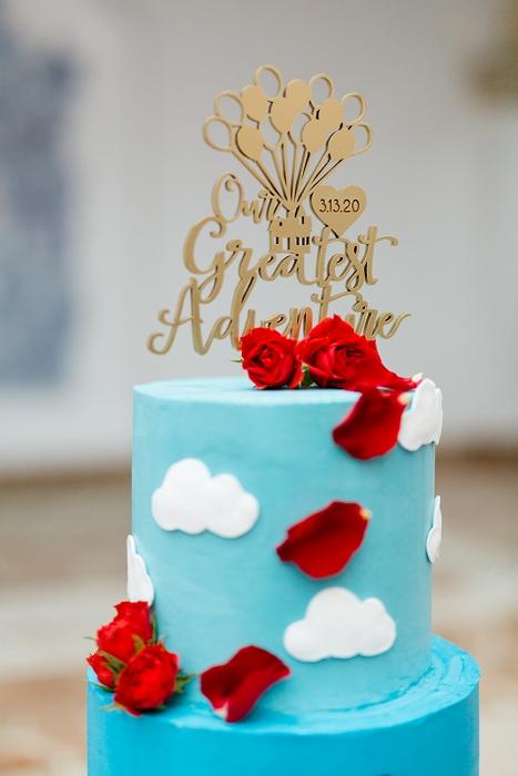UP cake topper