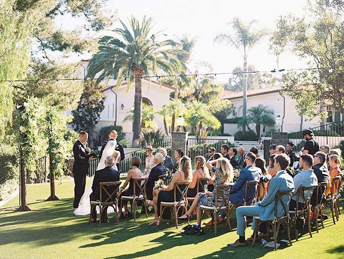 outdoor home wedding