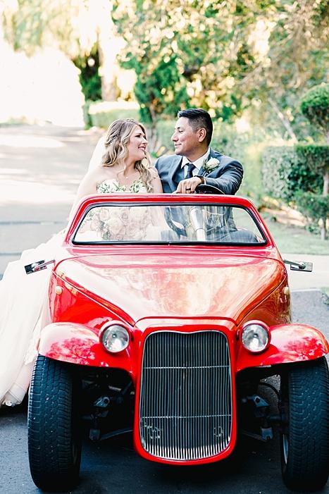 wedding roadster